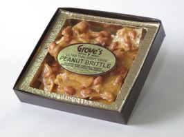 Grove's Peanut Brittle is the perfect gift
