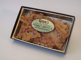 Gourmet Brittle at Grove's Brittle Works